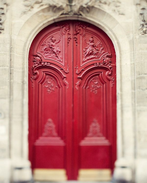 Rouge entryway