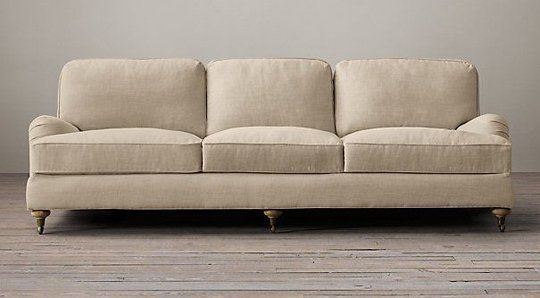 "Top Ten: Best Sleeper Sofas & Sofa Beds — Apartment Therapy's Annual Guide 2014 Restoration Hardware's English Roll Arm Sofa as I continue the ""sofa search."""