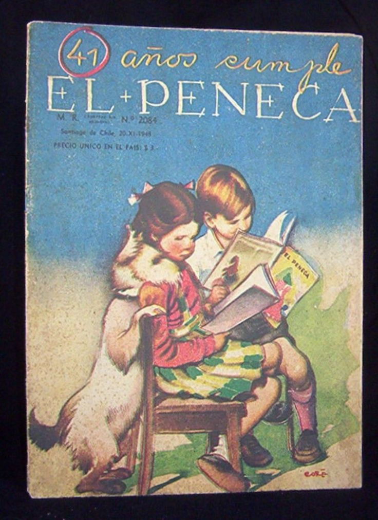 Fotografias de Portadas de revista El Peneca - Buscar con Google