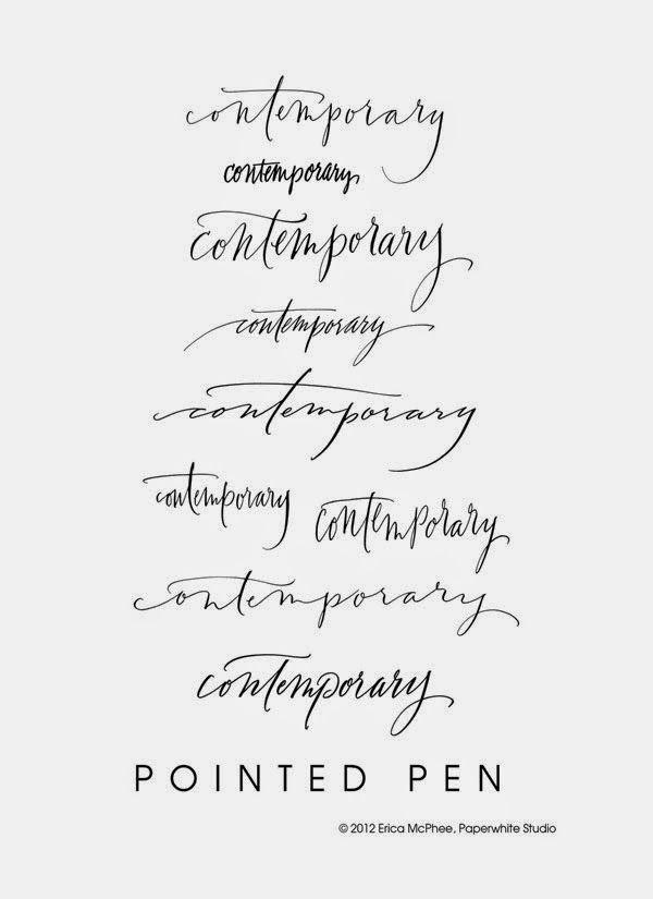 Beautiful feminine fonts.