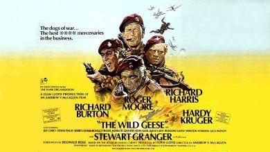 The Wild Geese (1978) Richard Burton, Roger Moore, Richard Harris