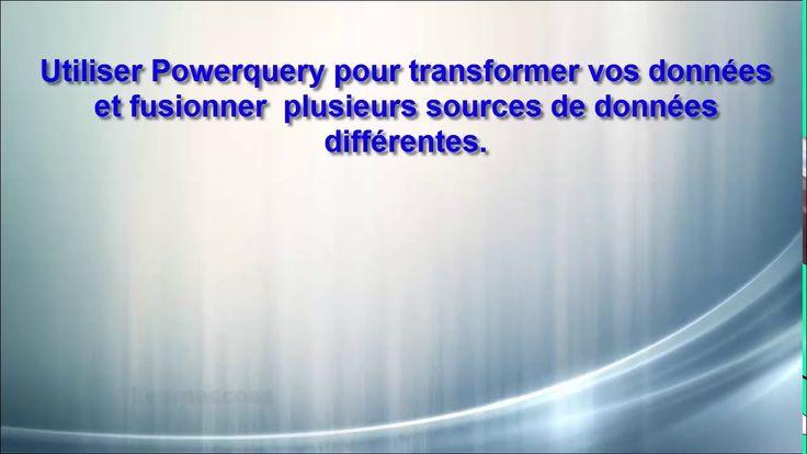 PowerQuery  - Comment transformer et fusionner des données