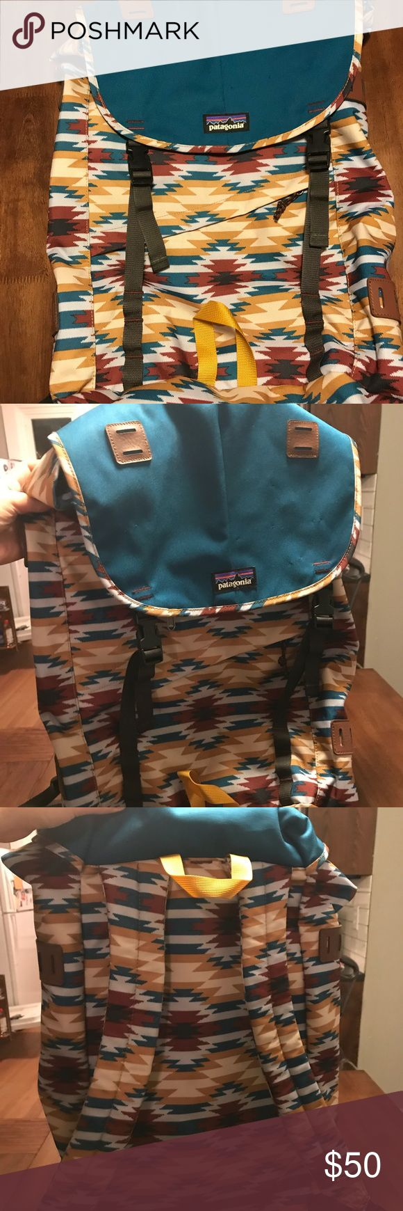 Patagonia Arbor Backpack For sale is my Patagonia backpack. It has seen very little use. Has a few small holes in the fabric on the top because I displayed buttons on it. Patagonia Bags Backpacks