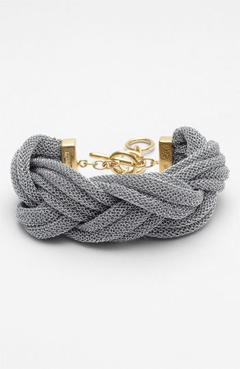 Adami & Martucci Mesh Braided Bracelet at Nordstrom