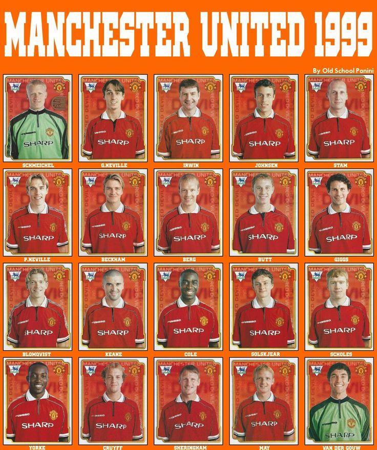 Old School Panini: Manchester Utd vs Bayern München in 1999