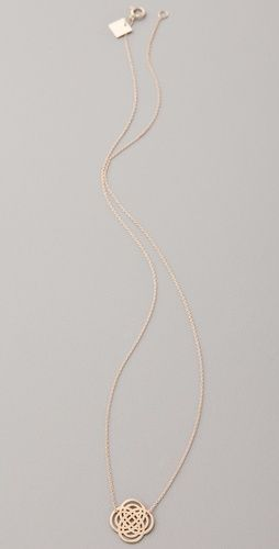 delicate infinity necklace... I think we should use this design as a template for our family jewelry @Vicki Smallwood Smallwood Ferraro Hern