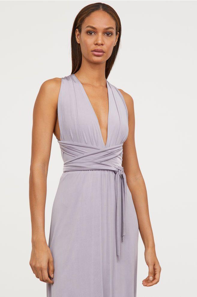 228a43a6f Vestido largo con lazada | Outfit | Vestidos largos, Vestidos y Uñas ...