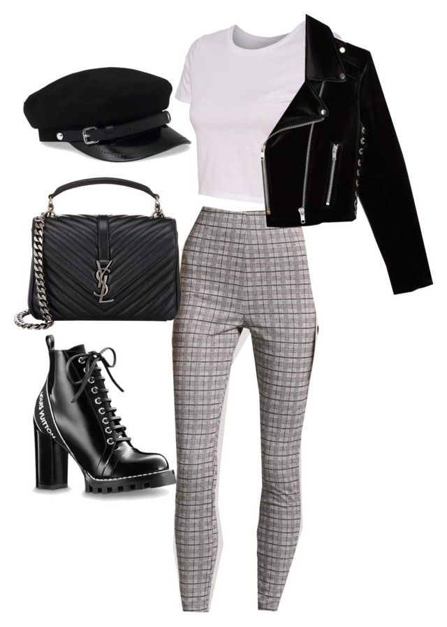 """Untitled #5857"" by lilaclynn ❤ liked on Polyvore featuring Forever 21, The Kooples, Yves Saint Laurent, YSL, forever21, louisvuitton, saintlaurent and yvessaintlaurent"