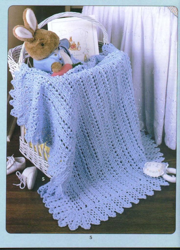 41 Best Baby Blankets Images On Pinterest Crochet Afghans Crochet