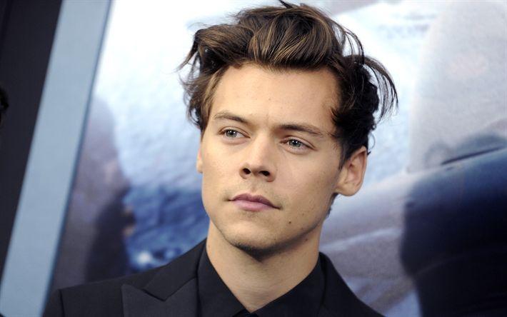 Descargar fondos de pantalla Harry Edward Styles, el cantante Británico, retrato, los jóvenes cantantes, Harry Styles