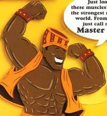 Third grade is listening to a story about a man who discovers that he isn't the strongest man alive after all!  Based on a Nigerian folk tale.