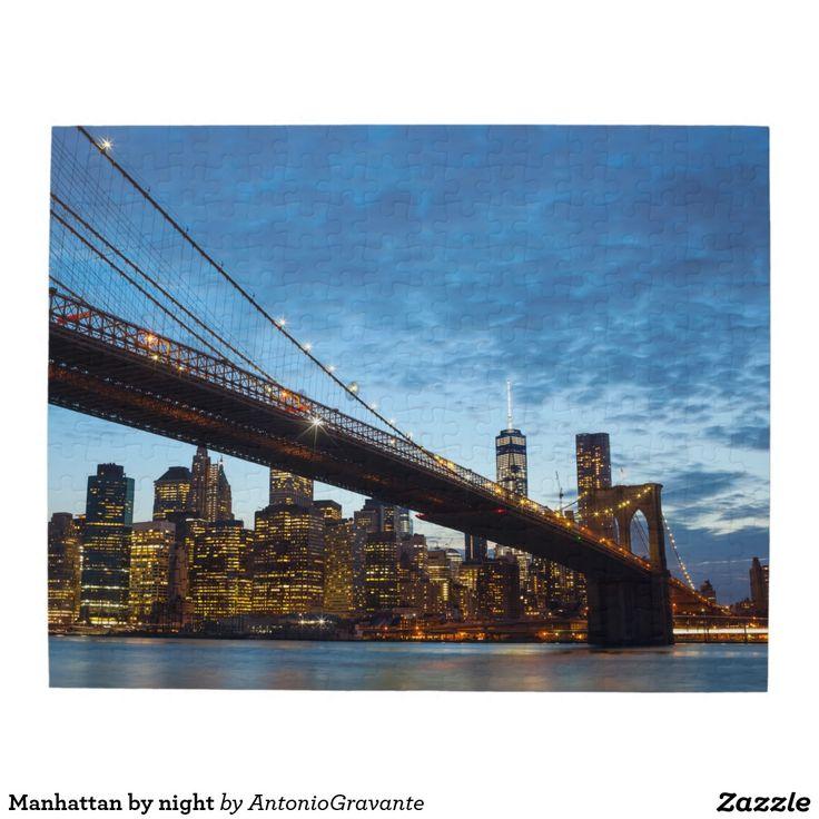 Manhattan by night puzzle