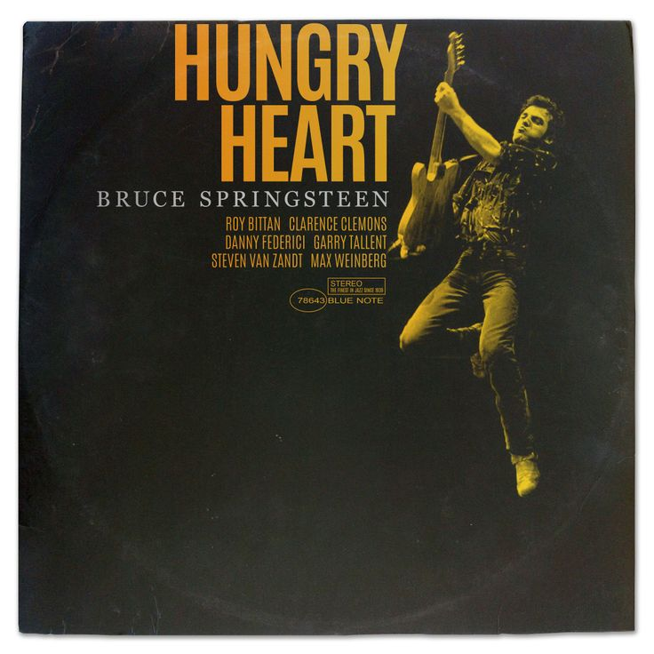 Hungry Heart Bruce Springsteen album cover imagined as