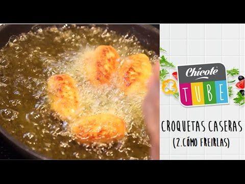 Croquetas caseras (montar y freír) de Alberto Chicote - YouTube