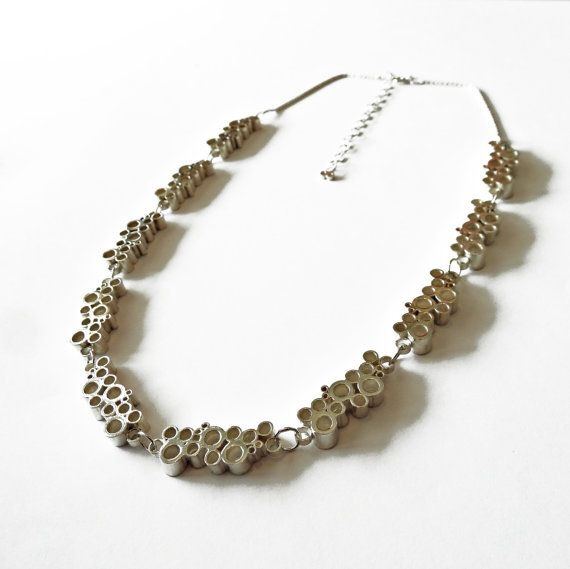 Celebration Time Sterling Silver Necklace by AnaBragancaJewellery