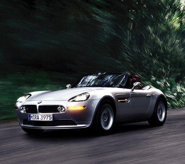 BMW Z8. If James Bond drove it, I want it