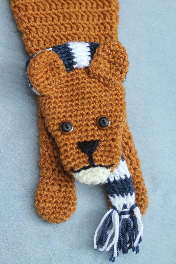 The Nittany Lion Scarf On Etsy 30 00 Psu Merchandise Pinterest