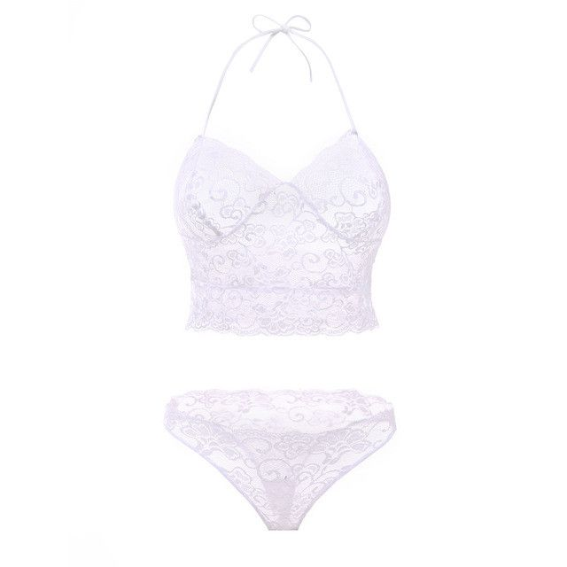 Lingerie See-through Lace Underwear Temptation Three Point Suits Sexy Lingerie