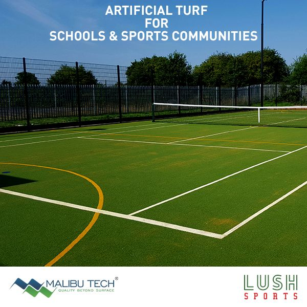 Lush Sports is by far the best sports field solution for Schools & Sports communities who're looking for cost effective options. They last long, they look clean and they require no maintenance.  #MalibuTech #LushSports #ArtificialTurf