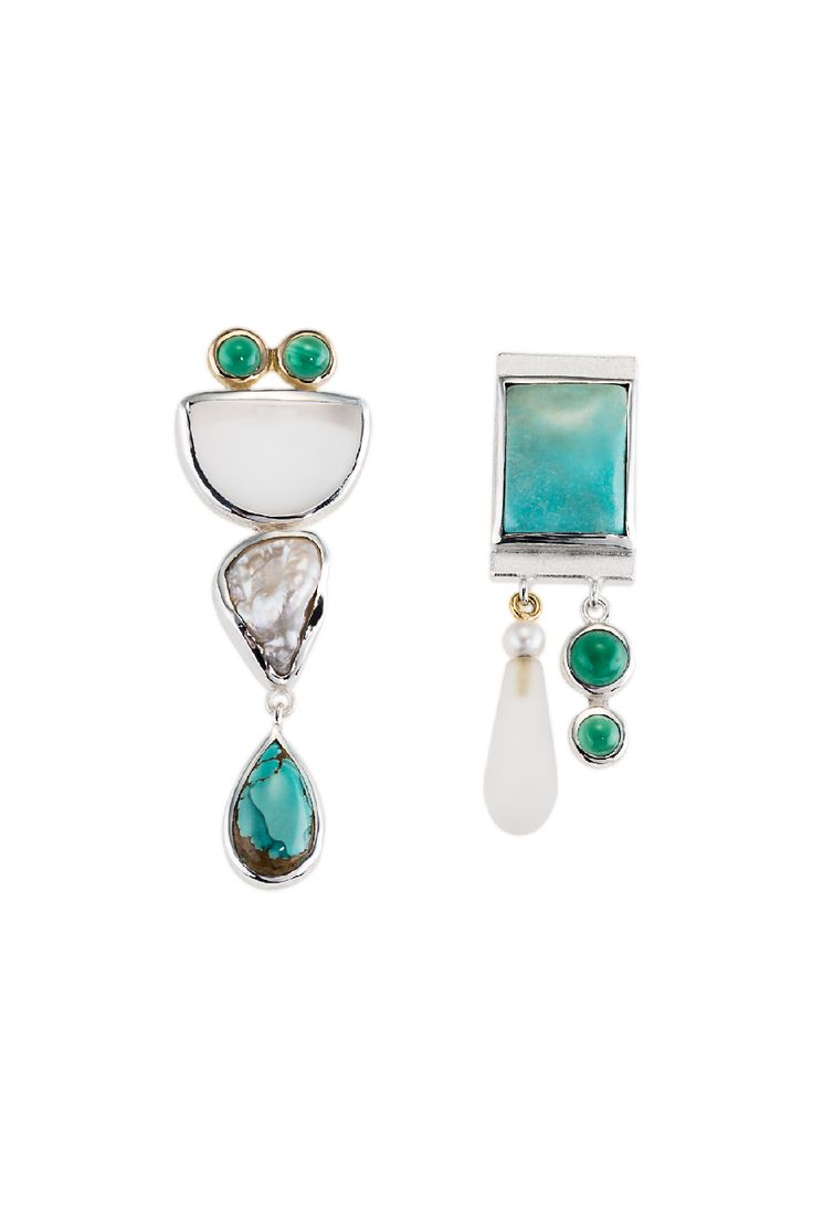 Oh SO good! Aegean Blue — Affordable one-of-a-kind earrings. Janis Kerman - To die for. FORMATIVE DESIGNS