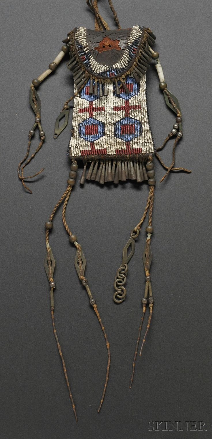 68 best native pouches images on pinterest leather for Cheyenne tribe arts and crafts
