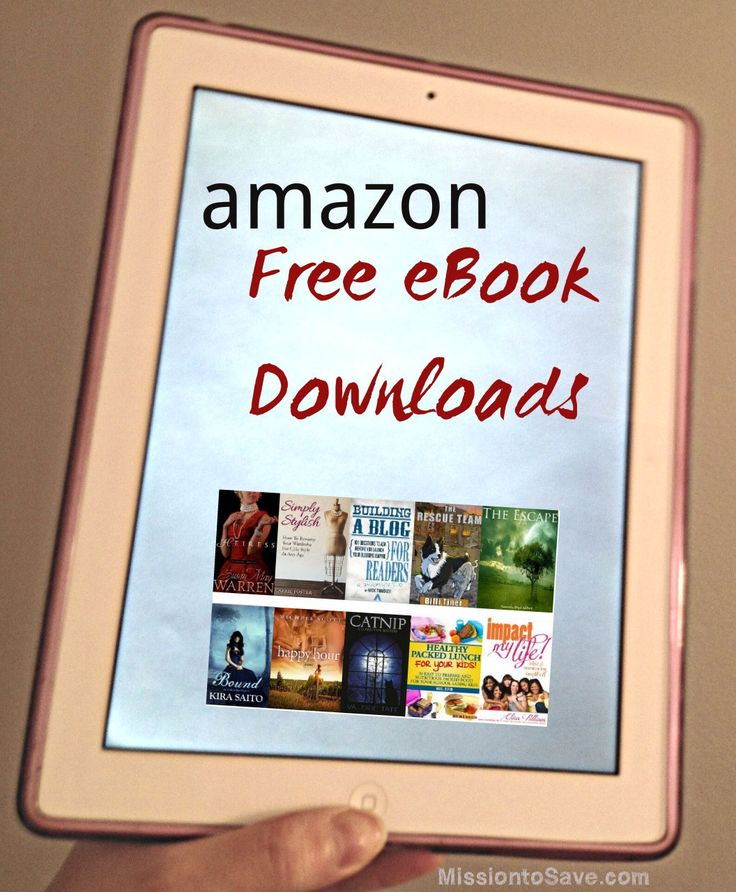 Check in each day for a list of  Free eBooks downloads on Amazon! List includes titles for kids, novels, recipes, DIY and more!