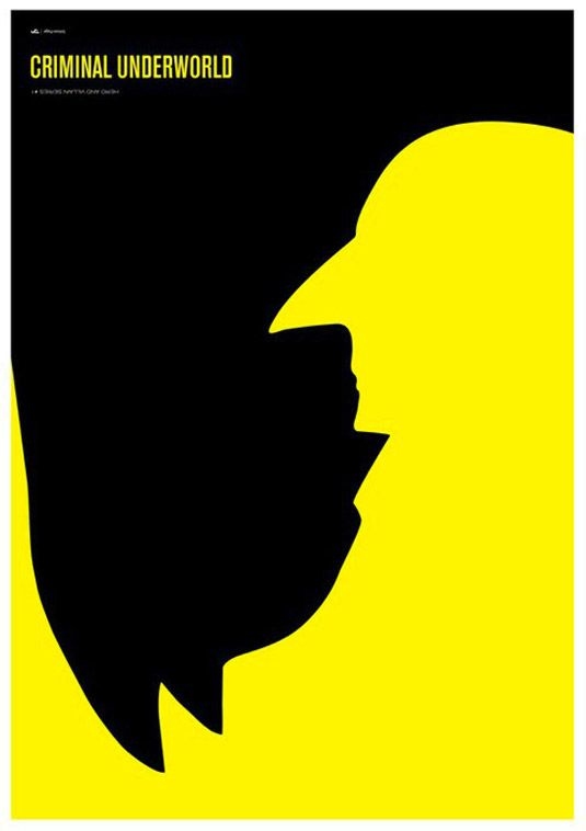 There's some big fans of Batman in the office, who love this excellent use of negative space to create the image.