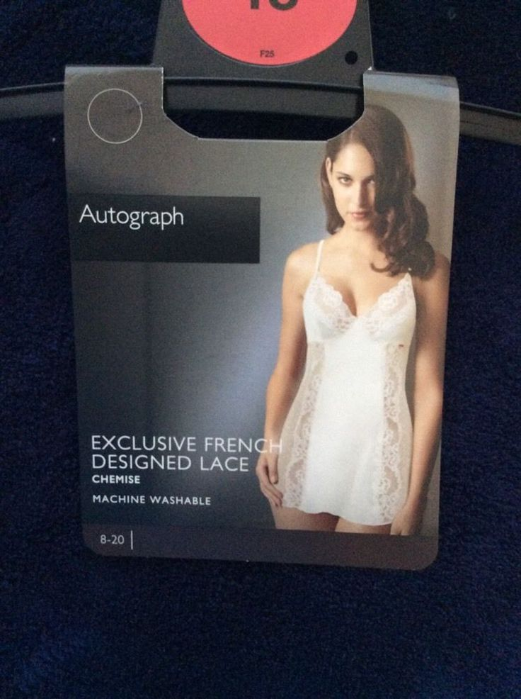 M&S AUTOGRAPH ladies CHEMISE with EXCLUSIVE French DESIGNED Lace UK18 BNWT | eBay