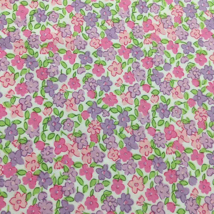 Twin Flat Sheet Pottery Barn Kids Outlet Pinks Lavender Bed Cutter Crafts  EUC  | eBay