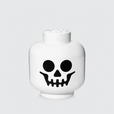 Lego storage head skeleton