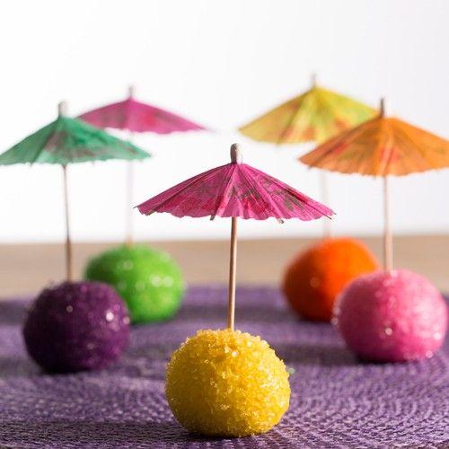 Recept: Parasol cakepops - Cake pops - Recepten | Deleukstetaartenshop.nl