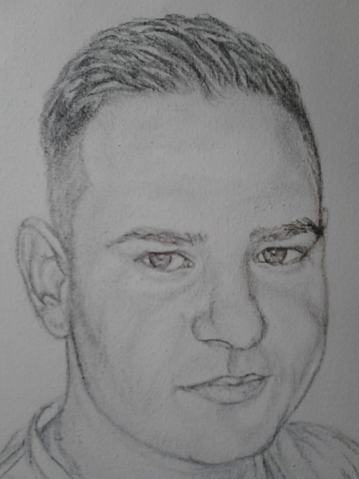 Portret baiat,pe panza.Grafica.//// Portrait boy on canvas, graphics.