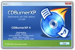 Free Software Tools For Copying, Ripping, and Burning: CDBurnerXP Pro 4