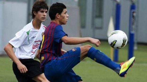Antonio Sanabria: estrella joven del Barcelona que acumula ofertas. #depor