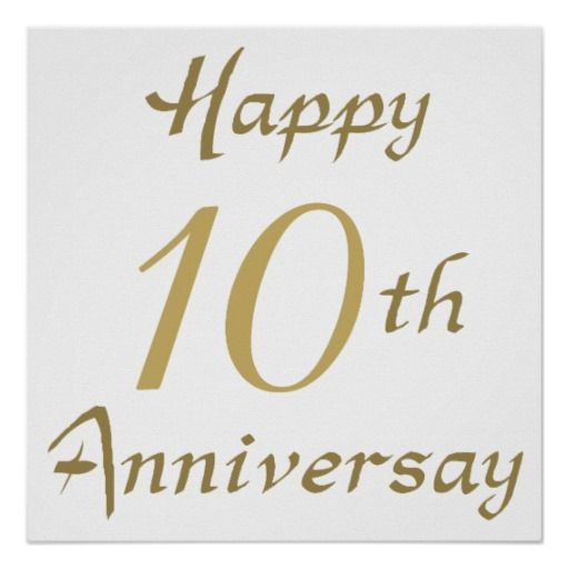 Hy 10th Ten Wedding Marriage Anniversary Wishes Quotes
