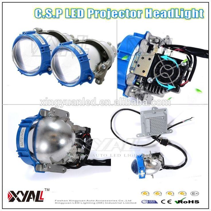 12V Car head lamp CSP LED Projector Headlights 4.3'' Q5 projector lens LED Headlight