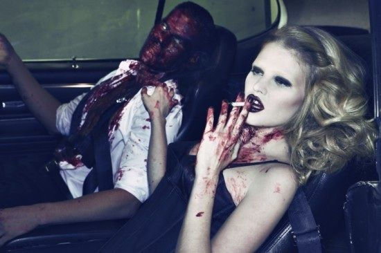 Blood zombie