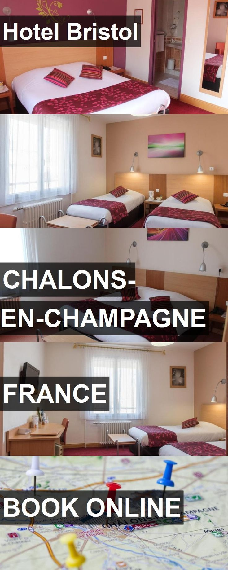 Hotel Bristol in Chalons-en-Champagne, France. For more information, photos, reviews and best prices please follow the link. #France #Chalons-en-Champagne #travel #vacation #hotel