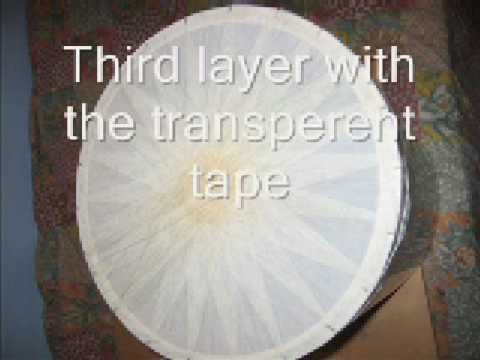 so you can make a drum head out of tape 3 layers packing pvc packing pinned for. Black Bedroom Furniture Sets. Home Design Ideas