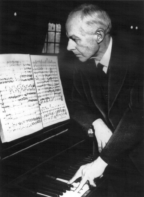 Béla Bartók. Composer of Bluebeard's Castle, the scariest opera ever, completely brilliant.