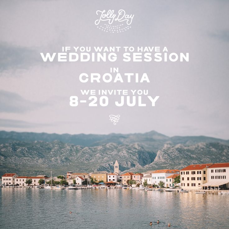 If you want to have a #weddingsession in #Croatia and it already sounds good!  We invite you 8-20 July.  Please write mails for details on info@jollyday.it  #destinationweddingphotographer #weddingplanning #weddingphotographer