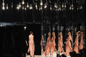 Stefan Beckman designed the set for Marc Jacobs's show at the 69th Regiment Armory. Fashion Week Pics: Mirrors for Marc...