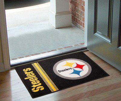 "NFL - Pittsburgh Steelers Uniform Inspired Starter Rug 19""x30"""