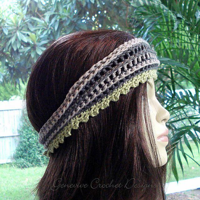 Mejores 209 imágenes de CROCHET Hair stuff en Pinterest | Ganchillo ...