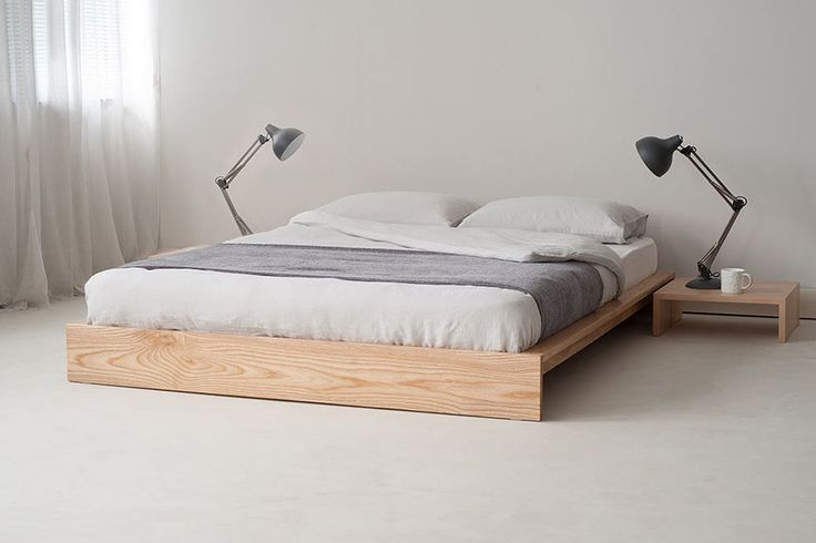 Ruhiges Bett Odunchu Odunchu Ruhiges Minimalistisches Bett