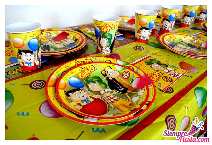 Art culos para fiesta de cumplea os con los personajes de - Accesorios de cumpleanos infantiles ...