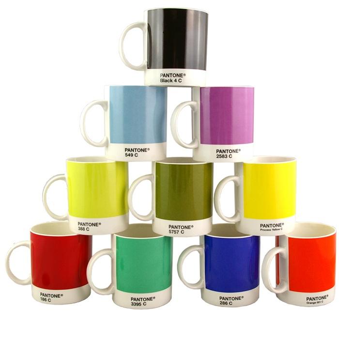 colour nerdy? maybe. But I love my Pantone mug.Pantone Mugs, Design Team, Home Magazines, Shops Pantone, Gift Ideas, Graphics Design, Colors Palettes, Drinks Teas, Canecas Coloridas