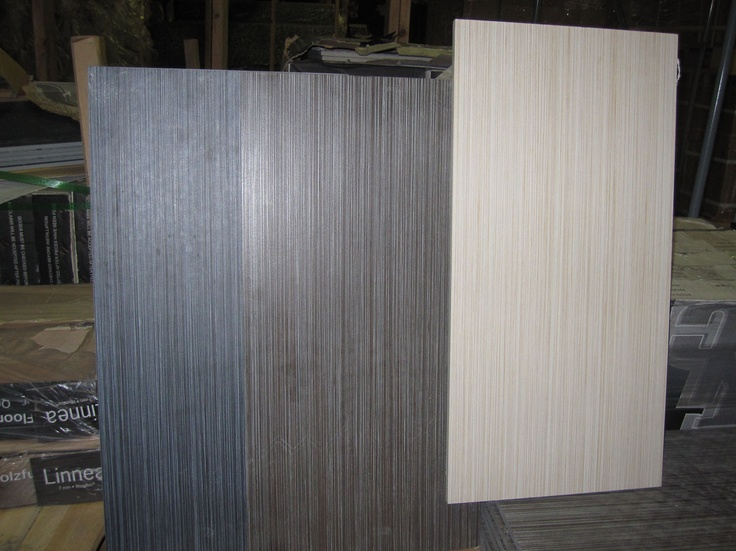 Dark Grey And Blue Linear Tile For Bathroom Floor Will Be