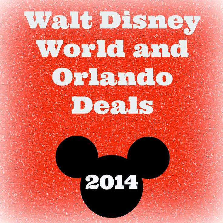 Walt Disney World and Orlando Deals 2014