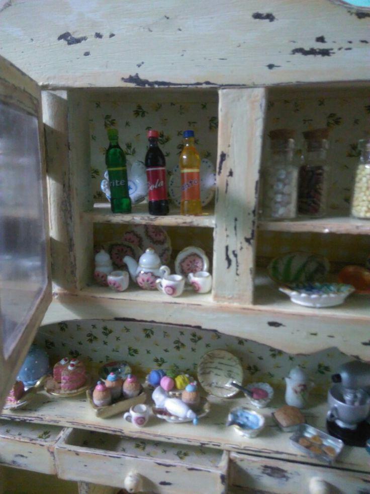 Mueble miniatura
